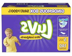 Luvs Ultra Leakguards Disposable Diapers Size 5  *Free 2 day