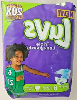Luvs Ultra Leakguards, Jumbo Diapers Pack, Size 4, 22-37 Ib,