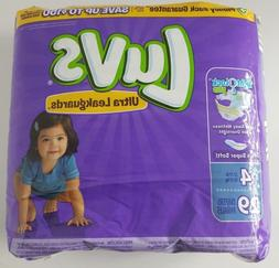 Luvs Ultra Leakguards Night Lock Plus Size 4  29 Diapers