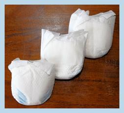 Ultra Preemie Diapers Under 2 lbs - Micro Preemie Baby / Reb