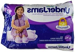 Pampers UnderJams Girls Size 8  Jumbo Pack 13 Count