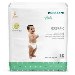 Unisex Baby Diaper McKesson CASE Tab Closure Disposable SIZE