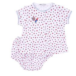 Magnolia Baby Unisex Baby Little Firecracker Embroidered Dia