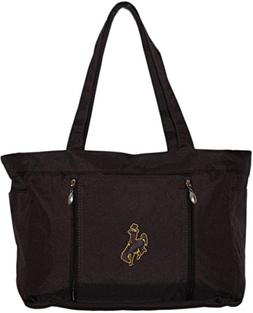 University of Wyoming Diaper Bag with Changing Pad