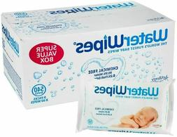 WaterWipes Unscented Baby Wipes, Sensitive and Newborn Skin,