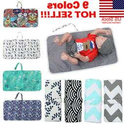 us baby portable folding diaper travel changing