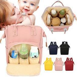 US Large Mummy Maternity Nappy Diaper Bag Baby Newborn Trave
