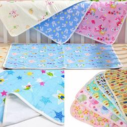 US STOCK Baby Infant Diaper Nappy Mat Waterproof Bedding Cha