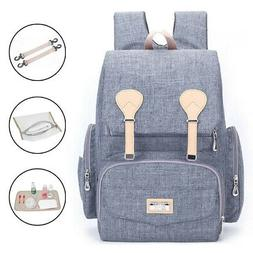US Waterproof Maternity Baby Diaper Bag Mummy Backpack Nappy