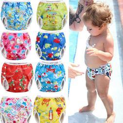 USA Adjustable Reusable Baby Product Pants Swim Diaper Water