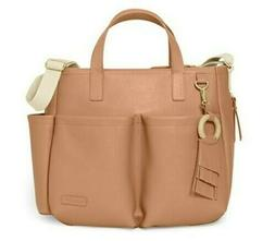 Skip Hop Vegan Leather Greenwich Simply Chic Diaper Bag  Bab