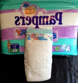 Vintage Pampers Baby-Dry Diaper Size 6 XL German Import *Rar