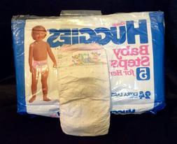 Vintage Kleenex Huggies Brand Baby Diaper Size 5 XL for Her