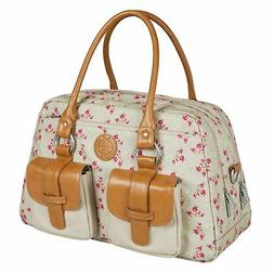 Lassig Vintage Metro Style Diaper Bag Handbag includes match
