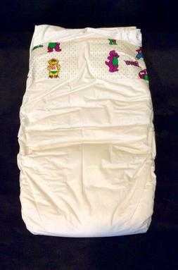 Vintage Luvs Plastic Backed Baby Diaper Size 3 from 1998-99