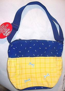 Enfamil Waterproof Baby Diaper Bag Blue Yellow Unisex Ribbon