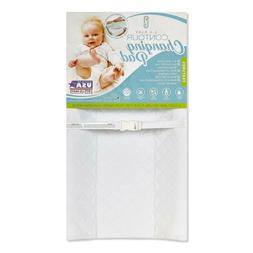 "LA Baby Waterproof Contour Changing Pad, 32"" - Made in USA."