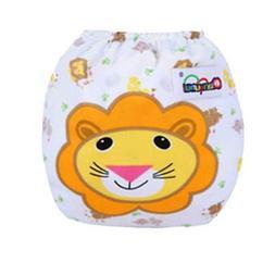 Waterproof Cute Infant Baby Diaper Pant Reusable Adjustable