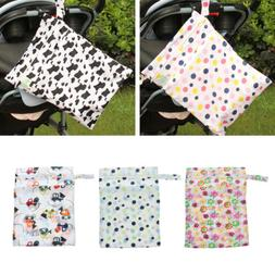 Waterproof Reusable Zipper Baby Cloth Diaper Nappy Wet Dry B