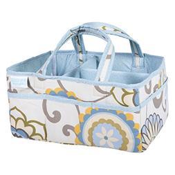 Trend Lab Waverly Baby Pom Pom Spa Diaper Caddy