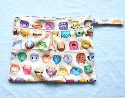 Wet Dry Travel Bag Clutch Creams Cloth Menstrual Pad Diaper