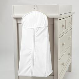 Carousel Designs White Pique Diaper Stacker