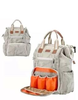 Wide Open Designed Baby Diaper Bag, Ticent Multi-Function Tr