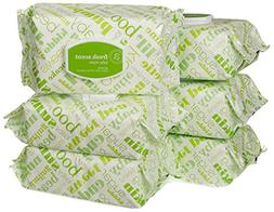 Amazon Elements Baby Wipes, Fresh Scent, Flip-Top Packs, 480