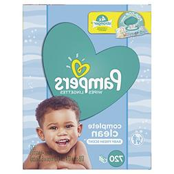 Pampers Baby Wipes Complete Clean Scented 10X Pop-Top Packs,