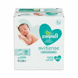 Pampers Sensitive Water-Based Baby Diaper Wipes, 9 Refill Pa