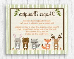 Woodland Animals Diaper Thoughts Late Night Diaper Baby Show