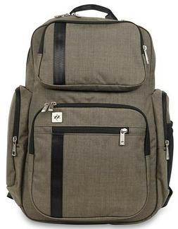 Ju Ju Be XY Vector Backpack Baby Diaper Bag w/ Light Changin