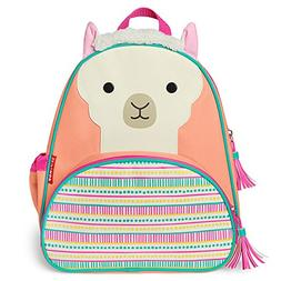 "Skip Hop Toddler Backpack, 12"" Llama School Bag, Multi"